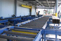 structural steel material handling system